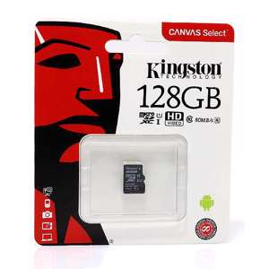 Slika od Memorijska kartica Kingston Micro SD 128GB Class 10 UHS U1