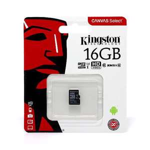 Slika od Memorijska kartica Kingston Micro SD 16GB Class 10 UHS U1