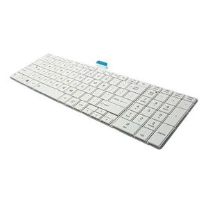 Slika od Tastatura za laptop za Toshiba C850 bela