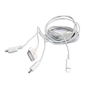 Slika od USB data kabal BWOO za Iphone lightning/micro 5in1