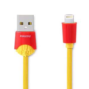 Slika od USB data kabal REMAX Chips RC-114i za Iphone lightning zuti 1m