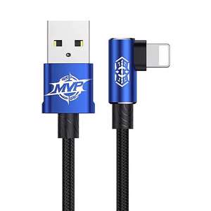Slika od USB data kabal BASEUS ELBOW Iphone lightning 1m plavi