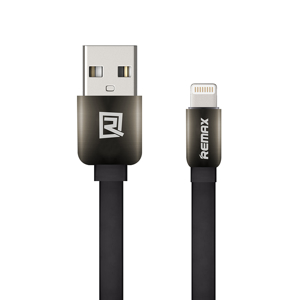 Slika od USB data kabal REMAX KINGKONG za Iphone lightning crni 1m