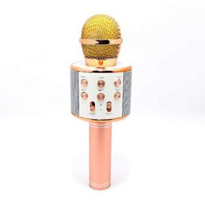 Slika od Mikrofon 858 Bluetooth roze